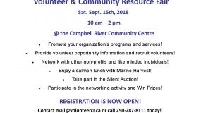 2018 Volunteer and Community Resource Fair